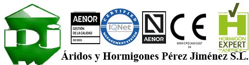 Áridos y Hormigones Pérez Jiménez, S.L.